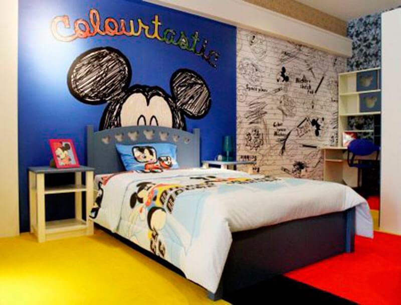 Quarto Mickey Mouse