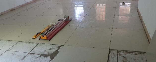 Trocando o piso