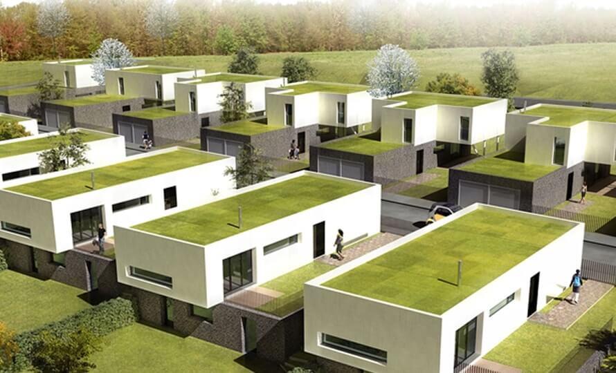 telhado verde solução ambiental