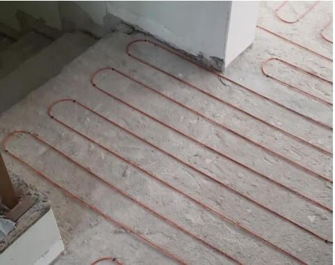 tipos de piso aquecido