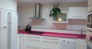 Encimeras de colores para la cocina