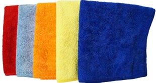 Utilizar toallas de algodón o de microfibra