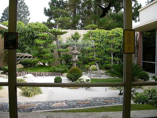 decorar un jardin japones