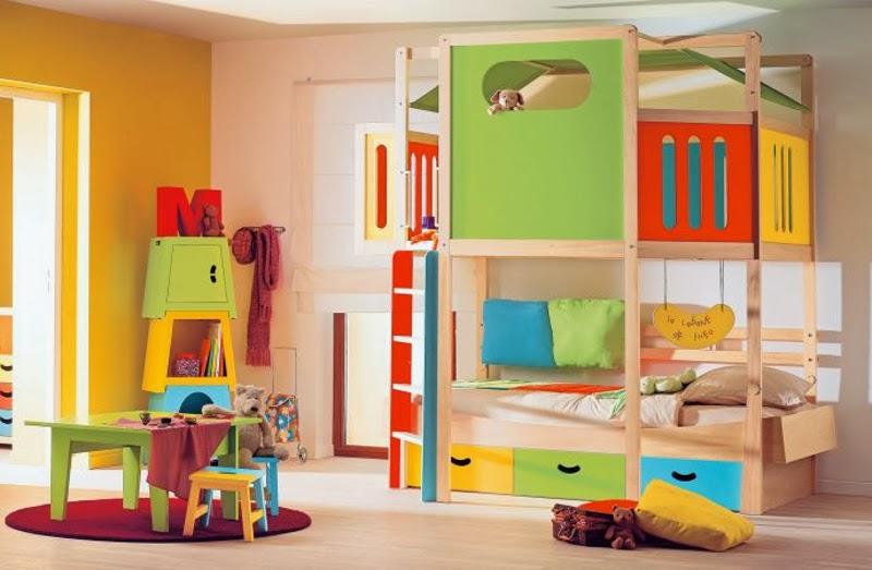 Beneficios de los colores en las habitaciones para ni os - Habitaciones infantiles modernas ...