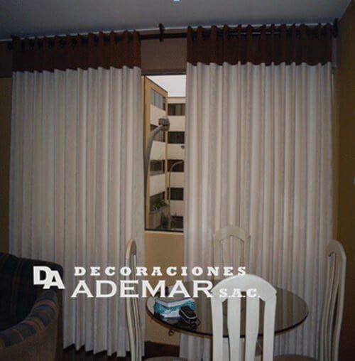 Cortinas cortinas modernas cortinas para sala peru for Cortinas cocina confeccionadas