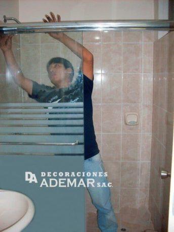 puertas de duchas moderna