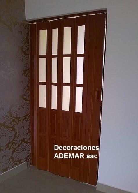 Puertas plegables puertas plegadizas de pvc americana for Ganchos para puertas plegables