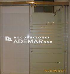 puertas de duchas con diseño