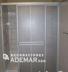 puertas de duchas acrilico