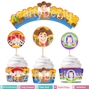 Toy Story4 Wrappers / Toppers