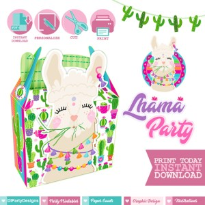 Lhama Party Party Box