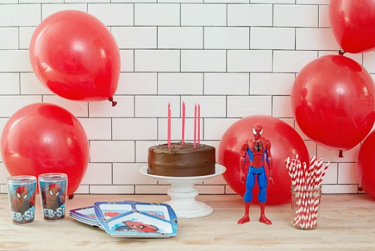 Decoración Globos Spiderman Fiestas Superheroes