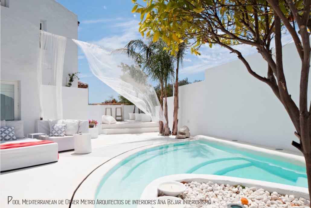 Decoraci n de terrazas patios y exteriores decoraci n y for Decoracion patio con piscina