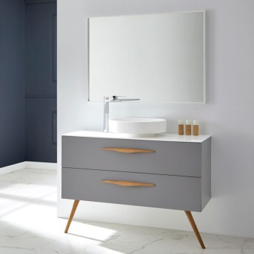 KLINT-GRIS mueble de baño vintage naxani