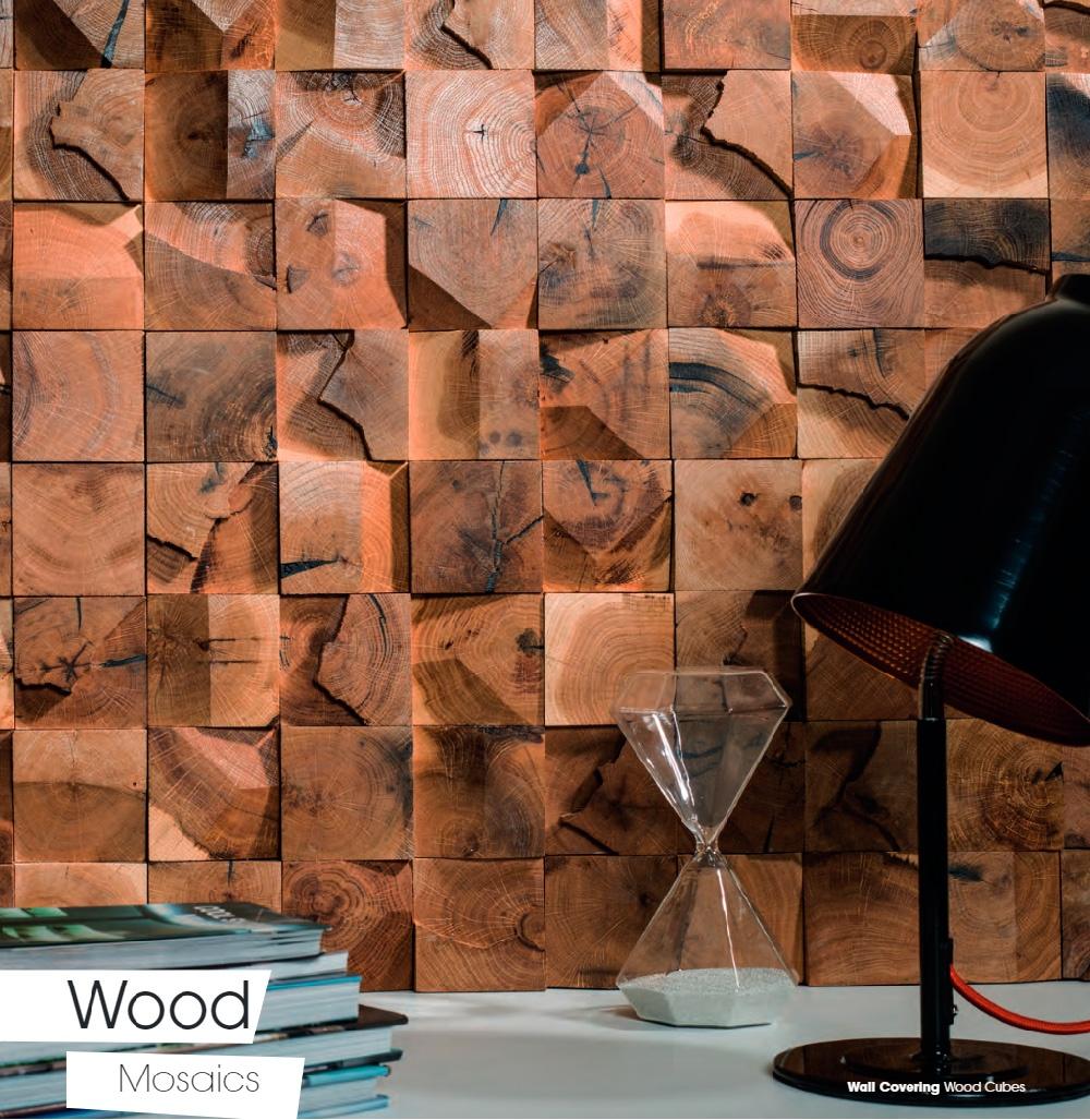 mosaico madera antic colonial