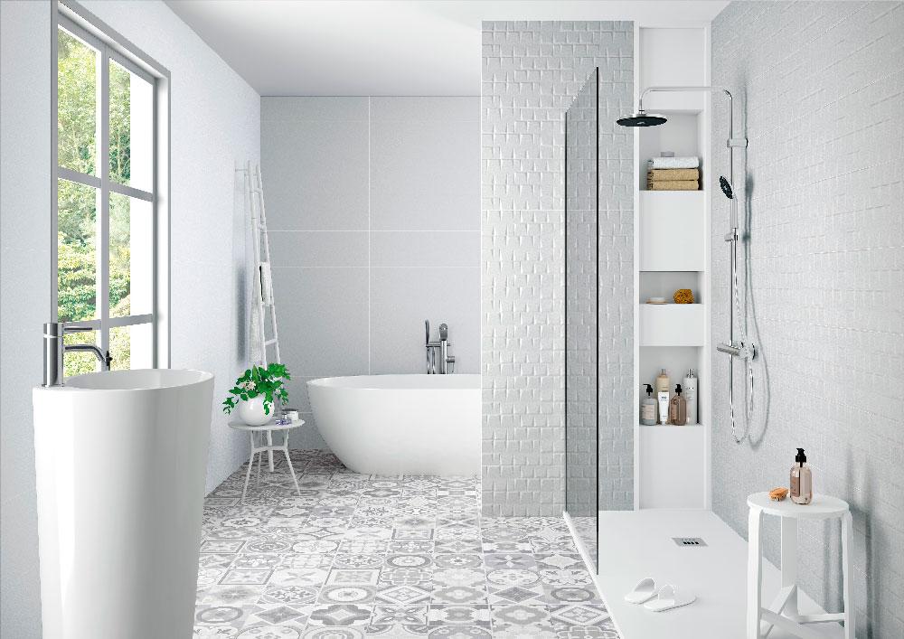 pure azulejos hidraulicos en ambientes modernos peronda gala y pamesa