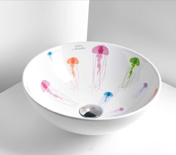 Jellyfish lavabo de David Delfín para Bathco