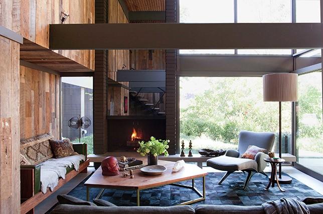 промышленный стиль домашнего дизайна
