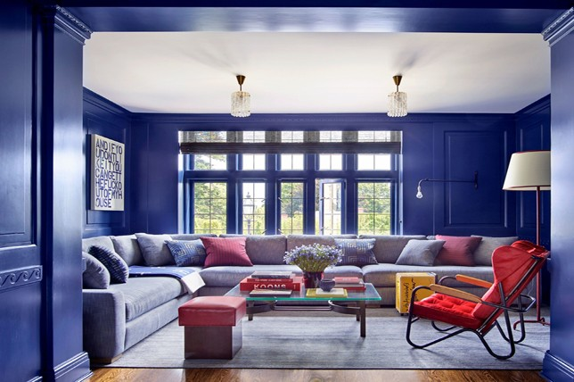 Living Room Paint Colors - The 14 Best Paint Trends To Try ... on Room Painting id=89857