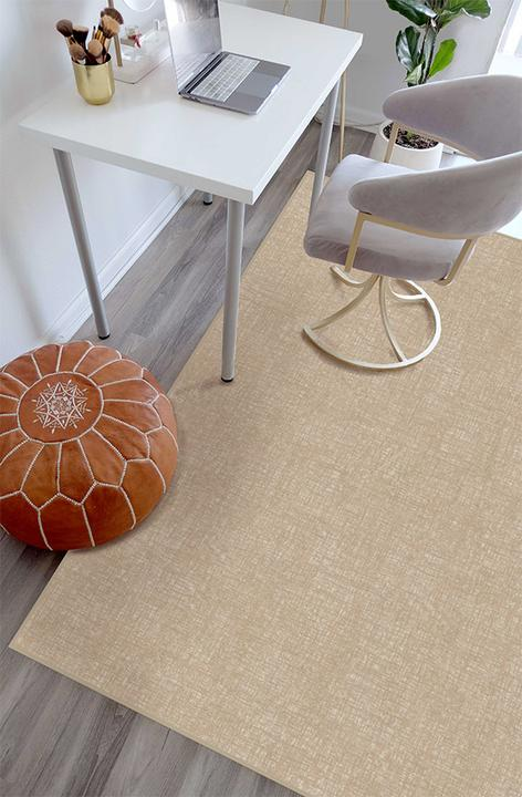 Crosshatch Natural Accent Rug