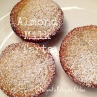 Almond Milk Tarts
