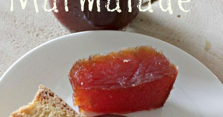 Quince Marmalade…