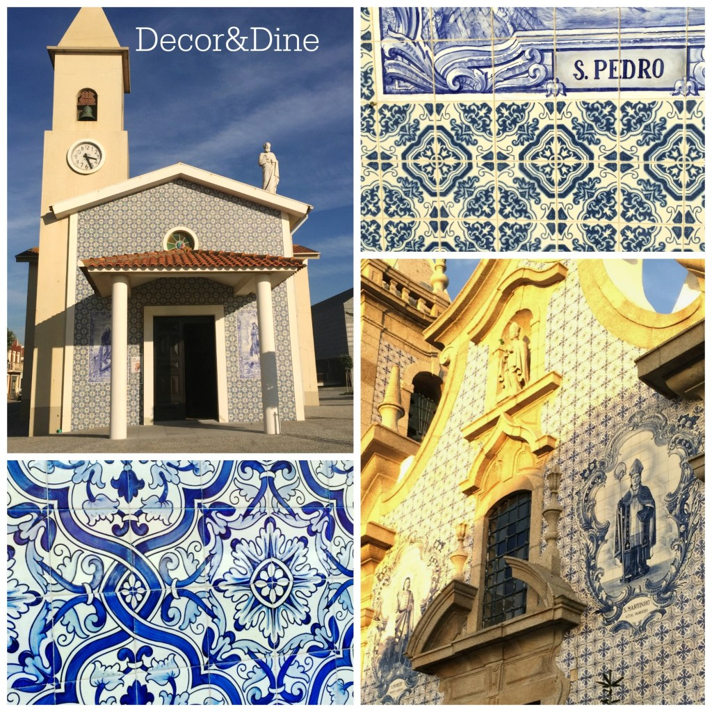 church tiles, Portugal