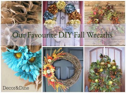 Our Favourite DIY Fall Wreaths