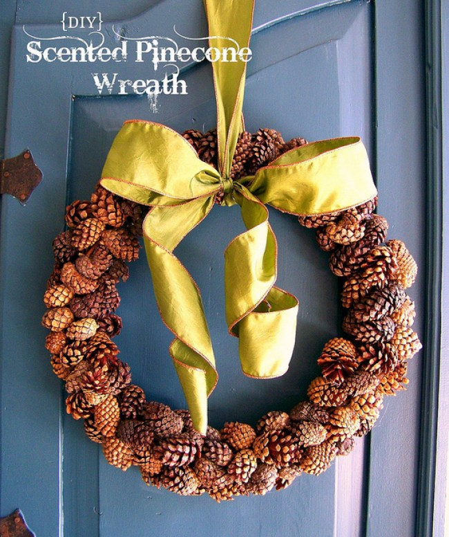 scented pine cone