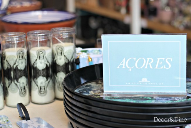 Acores products at Saudade