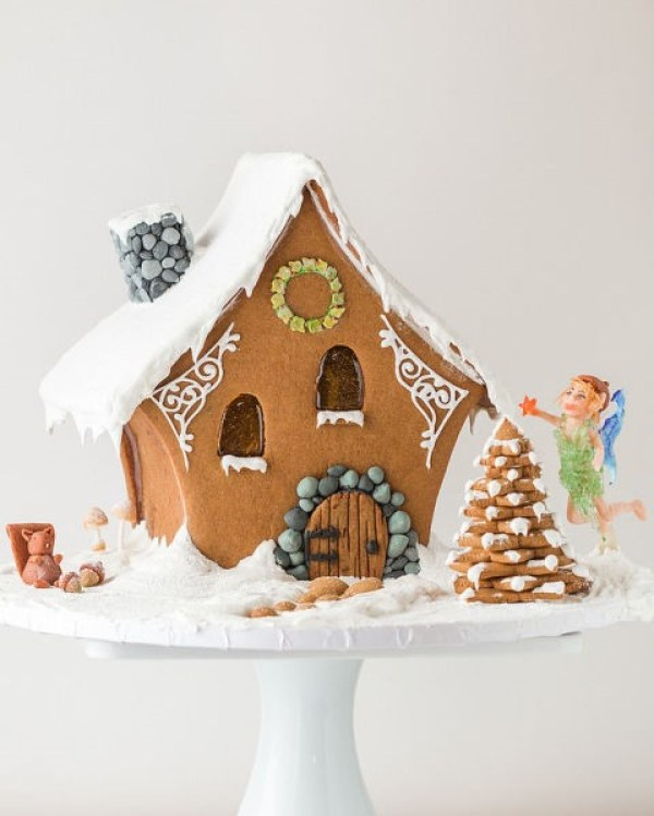 Gingerbread Fairy House