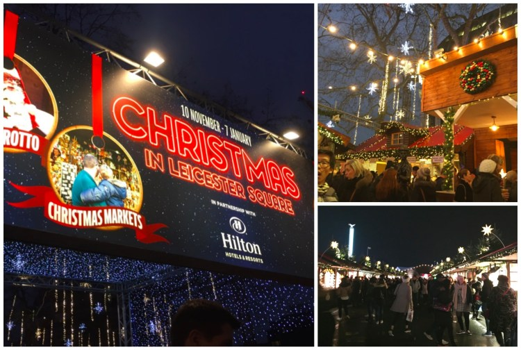 Christmas markets , london