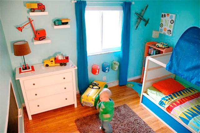 Espacios que inspiran dormitorio infantil con juguetes - Dormitorio infantil segunda mano ...