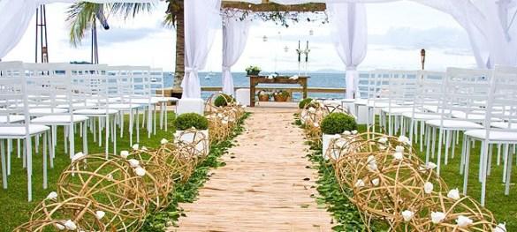 Casamento praiano Como decorar