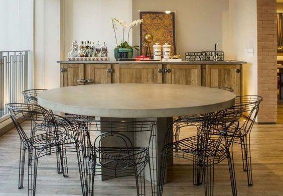 cadeiras modernas para a sala de jantar