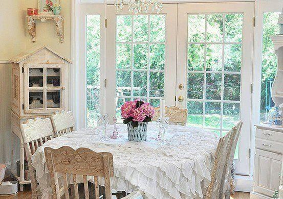 sala de jantar estilo provencal