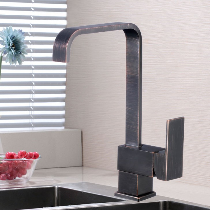 kitchen faucet brass with black bronze finish 82h08g orb