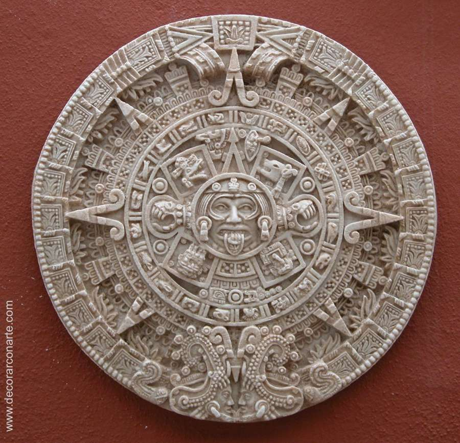Aztec Calendar 43cm