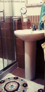 Espacios reducidos baño