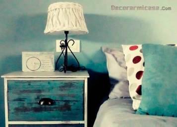 Primer plano con cojines de mi dormitorio