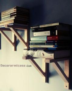 Estanterías de libros