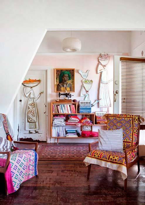 Una caravana bohemia decorar mi casa - Interiores de caravanas ...