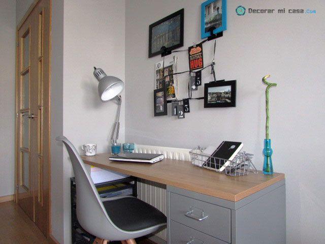 Silla en escritorio low cost