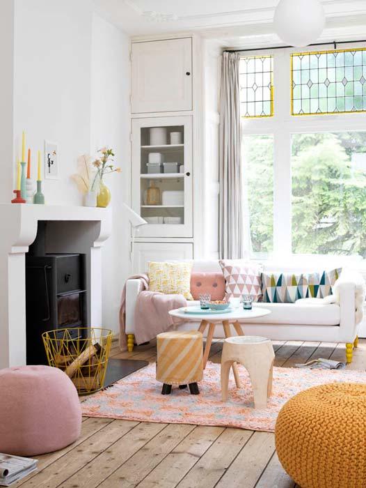 Endulza tu casa con colores pastel