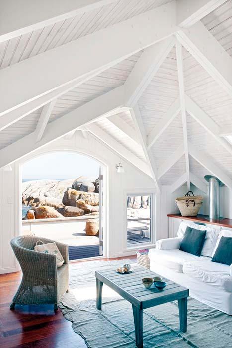 Una casa relajante en la playa