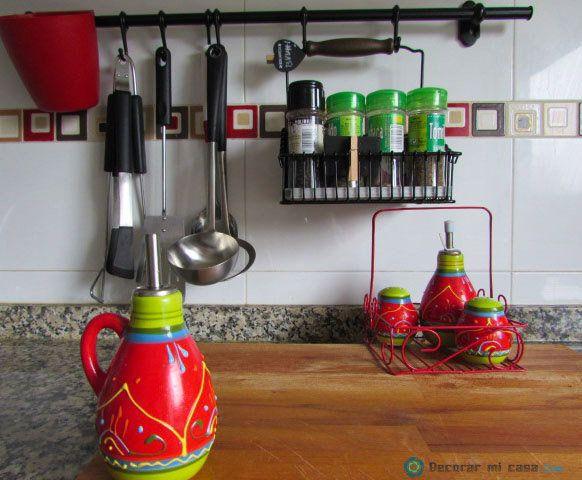 Todo a la vista en la cocina