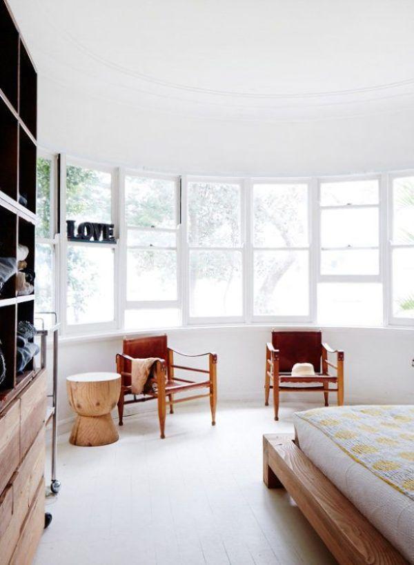 Un dormitorio natural