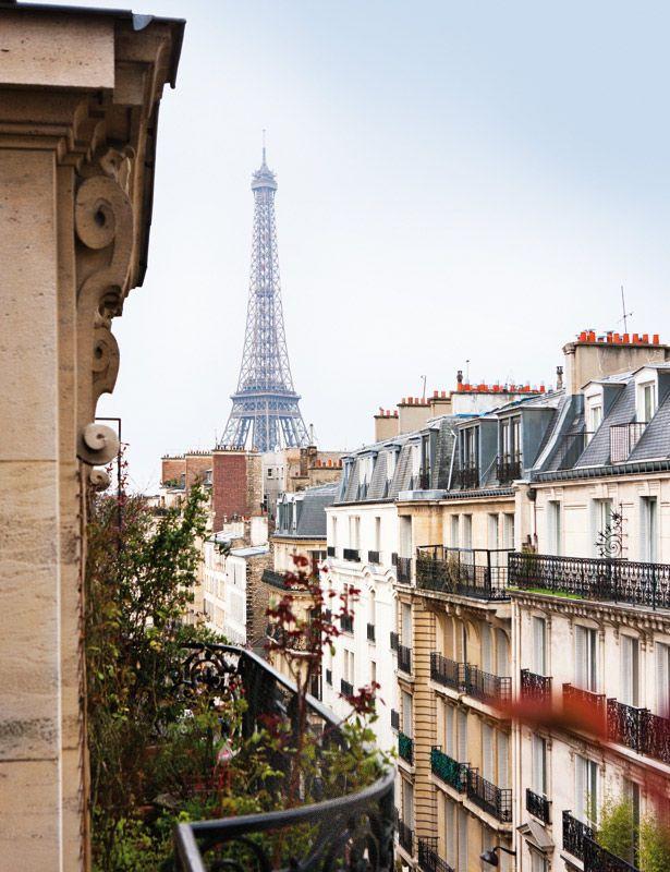 Dúplex en París con vistas a la Torre Eiffel