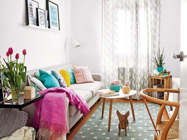 Salón colorido
