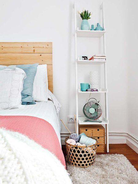 Escaleras en el dormitorio